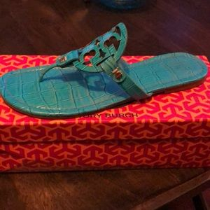 Tory Burch Miller Thong Sandals.